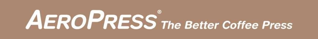 Logo reads: AeroPress the Better Coffee Press