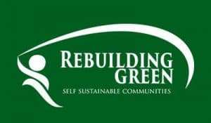 logo reads Rebuilding Green Sef Sustainable Communities
