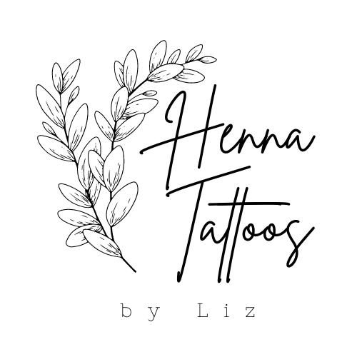 logo reads Henna Tattoos by Liz