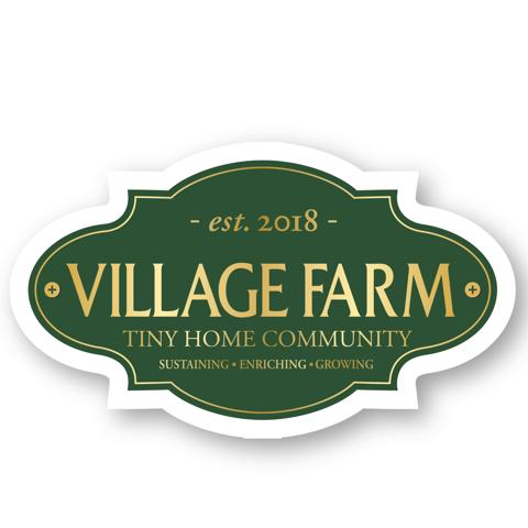 logo reads Village Farm