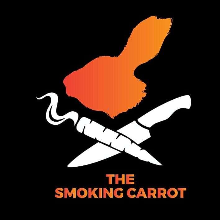 logo for the smoking carrot
