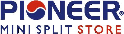 logo for Pioneer mini split store